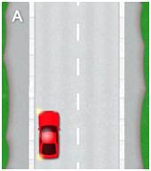 3 point turn - diagram a