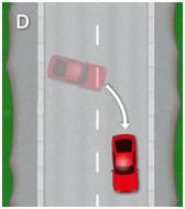 3 point turn - diagram d