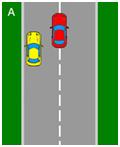 parallel parking - diagram a